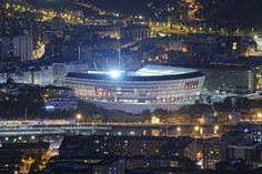Así luce San Mamés desde los diferentes rincones de Bilbao - #SanMames Barria