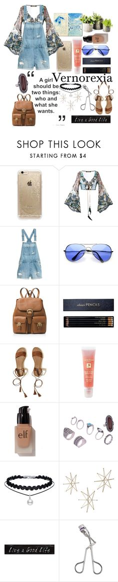 """""""🙌Vernorexia🙌"""" by beautyqueenmsthing ❤ liked on Polyvore featuring Rifle Paper Co, Roberto Cavalli, MICHAEL Michael Kors, Sloane Stationery, Hollister Co., Lancôme, e.l.f., 3R Studios and Tweezerman"""