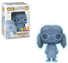 Includes full checklist, images, rarity, Pop shopping guide, shared list for the SDCC 2018 Funko figures. Pop Figurine, Figurines Funko Pop, Disney Pop, Moaning Myrtle, Fans D'harry Potter, Funko Pop Anime, Funko Pop Dolls, Funk Pop, Pop Toys