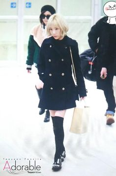 Adorable @taeyeon_ss_com 160111 Gimpo Airport TaeYeon Preview