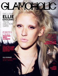 Glamoholic.com | Monthly Entertainment Magazine - Ellie Goulding Covers The September 2013 Issue Of Glamoholic  http://www.glamoholic.com  #Glamoholic #EllieGoulding #Magazine #Celebrities