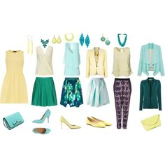 """Morning sea breeze"" by lovemybodyru on Polyvore #classicstyle #naturalstyle"