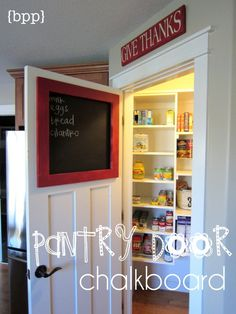 This would work great on the back of my pantry door!