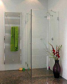A2E, Eck-Dusche mit 2 Türen, Klarglas, Chrom, H=195cm