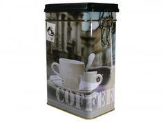 "Scharnierdeckeldose ""Coffee"" (117x78x197mm)"