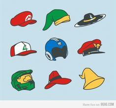 Game Hats/Helmets