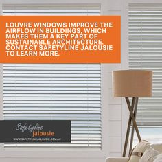 Louvre windows improve the airflow in buildings, which makes them a key part of sustainable architecture.Contact SafetyLine Jalousie to learn more. Building Management System, Louvre Windows, Operating Cost, Boarding House, Laminated Glass, High Rise Building, Energy Consumption, Noise Reduction, Window Frames