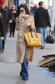 Vanessa Hudgens Street Style – Out and about in NYC