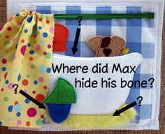 COMPLETED Wheres Max Felt QUIET BOOK Activity Book by LindyJDesign