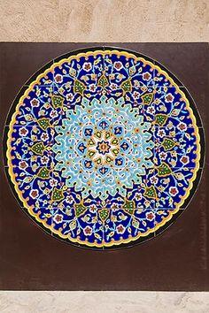 United Arab Emirates, Dubai, Decorative Mosaic