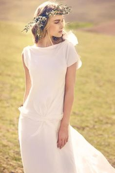 boho wedding dress..so I would rather this be in some other fun color and not a wedding dress :)