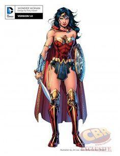 "DC Comics' ""Rebirth"" Character Designs for Batman, Wonder Woman and More   Comic Book Resources"