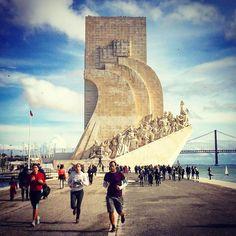 Padrão dos Descobrimentos on the bank of the Tagus River. #architecture #history #monument // #Belém #Lisboa #Portugal