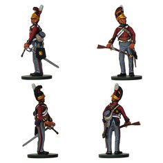 """Soldado - Caballería británica 1 er Regimiento """"Life Guards"""" - 1815 (Colección """"History Club"""" editada por Oryon - 54 mm)"""