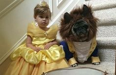 'Twas the day before Halloween and we really like looking at adorable pets dressed up as our favorite Disney characters.