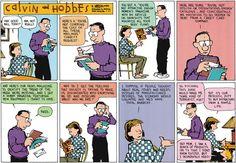 Calvin and Hobbes Comic Strip, March 23, 2014 on GoComics.com