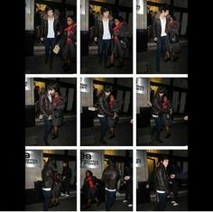 Harry didn't see the lady walking and ran into her, so she hit him with her purse and walked off. Poor Harry he looks so confused but omfgggg I'm laughing so hard. Harry Edward Styles, Harry Styles, 1d Imagines, Cher Lloyd, Mr Style, I Love One Direction, Direction Quotes, Over Dose, Laughing So Hard