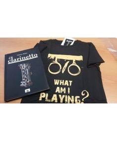Il Clarinetto e maglietta THE CLARINET