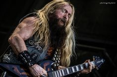 Epic Firetruck's Zakk Wylde's Black Label Society - Eve Mate Photography ~