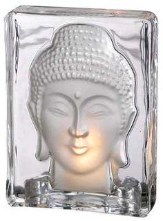 "Buddha Tealight Holder 5 3-8"""