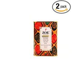 #7: Zoe Organic Extra Virgin Olive Oil, 25.5- Ounce tins (Pack of 2).