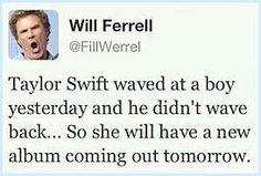 """Will Ferrell"" tweets haha"