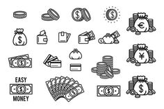 Money icon set by AliceNoir on @creativemarket