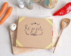 DIY Kochbuch mit Tafelfolie