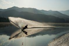 Waterskiing in Gyeongsangbuk-do #avenuekoko #korea #travel…