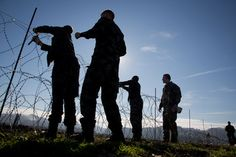 Slovenia Starts Building Border Fence to Stem Flow of Migrants