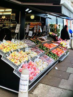 Erdington fruits stall