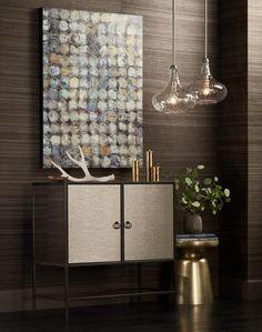 "Cora 11"" Wide Brushed Nickel Mini Pendant - #2Y960 | Lamps Plus"