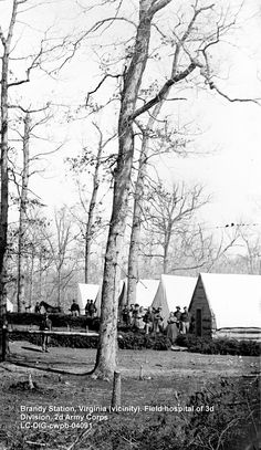 Brandy Station is only about 40 miles from Washington. ...I would be extremely thankful to have the pads. [Wounded and sick soldiers] ...are sadly in need of them. http://www.barnesandnoble.com/w/a-soldiers-friend-civil-war-nurse-cornelia-hancock-georgiann-baldino/1028960727