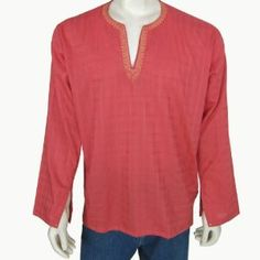 Mens Long Sleeve Casual Cotton Shirt Kurta India (Apparel)  http://howtogetfaster.co.uk/jenks.php?p=B007CDFY0Y  B007CDFY0Y