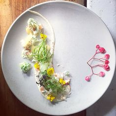 Crab Cucumber Lemon #presentation #plating by chrisedwardson