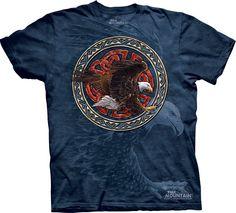 The Mountain T-Shirts: Tribal Eagle $20.00