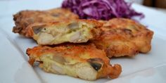 Pljeskavice sa piletinom, gljivama i sirom - Domaći kuhar