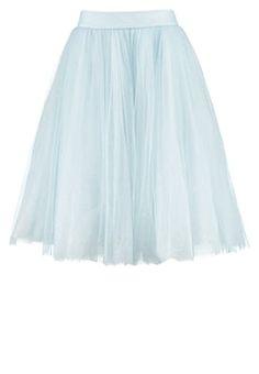 Mach dein Outfit zum Hingucker! Chi Chi London ANIKA - A-Linien-Rock - blue für 45,45 € (16.09.16) versandkostenfrei bei Zalando bestellen.