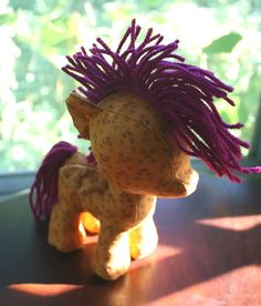 Pony sewing pattern