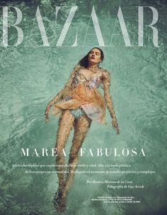 Sanne Vloet by Guy Aroch for Harper's Bazaar Spain May 2016