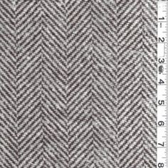 Chocolate/Ivory Wool Coating - Fabric By The Yard (my favorite)