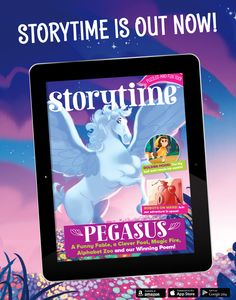 Every issue of Storytime is available digitally too! Get it for your tablet and turn long journeys into adventures! https://pocketmags.com/storytime-magazine