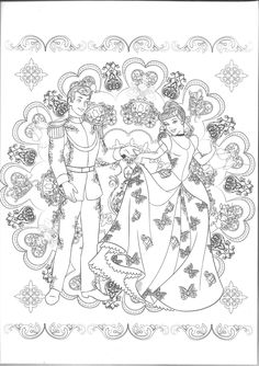 27 Best Cinderella Coloring Pages images in 2020