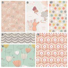 Custom Baby Bedding  Peach Aqua and Grey Crib Bedding sets/individual pieces, by GiggleSixBaby,