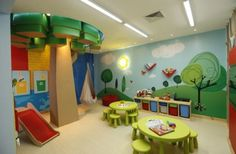 40 Kids Playroom Design Ideas That Usher In Colorful Joy!                                                                                                                                                                                 More