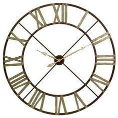 "Edward Wall Clock - 48"" D"