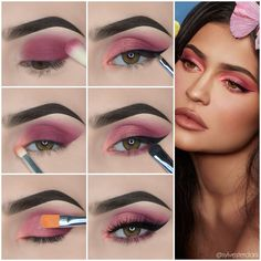 Chic Eye Makeup Step by Step Tutorials from Fashion Celebrities - Page 2 of 2