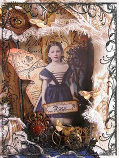 Jill McCall's art via Paper Whimsy  http://feathersandflight.blogspot.com/