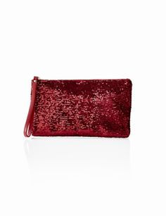 Midsize Sequin Clutch from love the sparkles THELIMITED.com #ItsTime #TheLimited