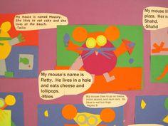 Princess Artypants: Kinder Shape Mice